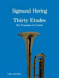 Thirty Etudes Sheet Music by Sigmund Hering