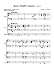 I Know That My Redeemer Lives - (Duke Street) -Piano and Organ Duet Sheet Music by John Hatton