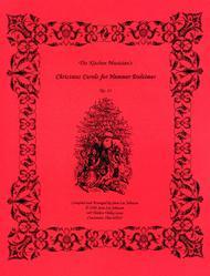 Christmas Carols for Hammer Dulcimer Sheet Music by Sara Lee Johnson