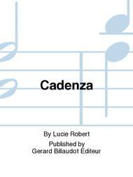 Cadenza Sheet Music by Lucie Robert