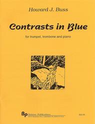 Contrasts in Blue Sheet Music by Howard J. Buss