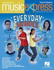 Everyday Heroes Vol. 16 No. 2 Sheet Music by Elvis Presley