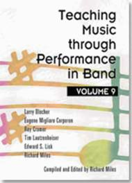 Teaching Music through Performance in Band - Volume 9 Sheet Music by Eugene M. Corporon