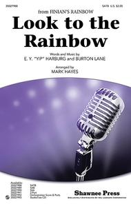 Look to the Rainbow Sheet Music by Burton Lane
