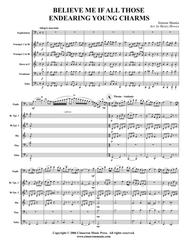 Believe Me If All Those Endearing Young Charms Sheet Music by S. Mantia