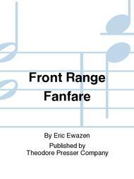 Front Range Fanfare Sheet Music by Eric Ewazen