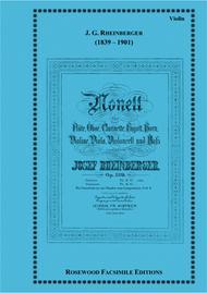 Nonet Sheet Music by Joseph G. Rheinberger