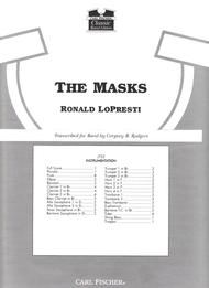 The Masks Sheet Music by Ronald Lo Presti