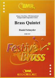 Brass Quintet Sheet Music by Daniel Schnyder