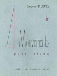 Mouvements (4) Sheet Music by Eugene Kurtz