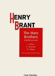 The Marx Brothers Sheet Music by Henry Brant