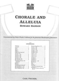 Chorale And Alleluia Sheet Music by Howard Hanson