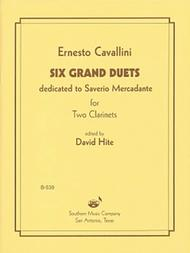 Six Grand Duets Sheet Music by Ernesto Cavallini