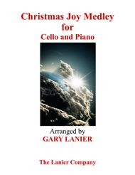 Gary Lanier: CHRISTMAS JOY MEDLEY (Cello/Piano and Cello Part) Sheet Music by George F. Handel