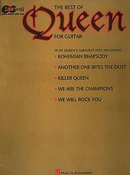 The Best Of Queen For Guitar - Easy Guitar Sheet Music by Queen