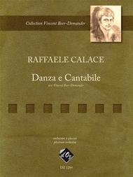 Danza e Cantabile Sheet Music by Raffaele Calace