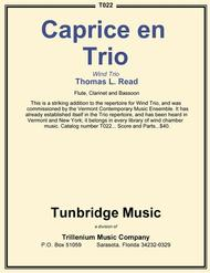 Caprice en Trio Sheet Music by Thomas L. Read