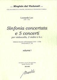 Sinfonia concertata e 5 Cello Concertos (Manuscript I-Nc