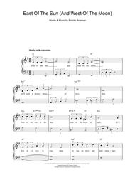 East Of The Sun (And West Of The Moon) Sheet Music by Brooks Bowman