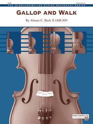 Gallop and Walk Sheet Music by Almon C. Bock II