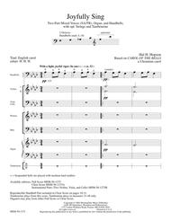 Joyfully Sing (Full Score) Sheet Music by Hal H. Hopson