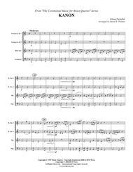 Kanon Sheet Music by Johann Pachelbel