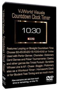 VJ World Visuals Countdown Clock Timer Sheet Music by Various