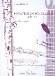 Sonatine Op. 151 No. 1 Sheet Music by Anton Diabelli