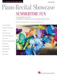 Piano Recital Showcase - Summertime Fun Sheet Music by Bill Boyd