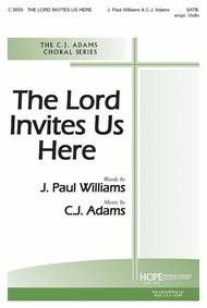 The Lord Invites Us Here Sheet Music by C. J. Adams