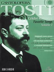 Cantolopera: Tosti - Favorite Songs - Volume 2 Sheet Music by Francesco Paolo Tosti