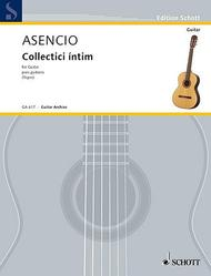 Collectici intim Sheet Music by Vicente Asencio