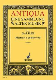 Twelve Ricercari Sheet Music by Vincenzo Galilei