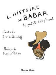 L'Histoire De Babar Sheet Music by Francis Poulenc