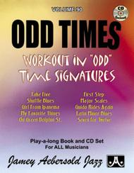Volume 90 - Odd Times - Unusual Time Signatures Sheet Music by Jamey Aebersold