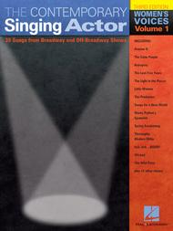 The Contemporary Singing Actor Sheet Music by Various