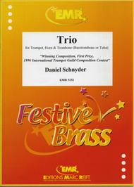 Trio Sheet Music by Daniel Schnyder