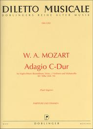 Adagio C-Dur KV 580a (Anh 94) Sheet Music by Wolfgang Amadeus Mozart