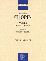 Valses Sheet Music by Claude Debussy