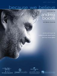 Because We Believe Sheet Music by Andrea Bocelli