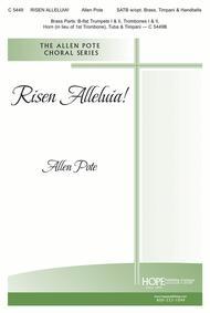 Risen Alleluia! Sheet Music by Allen Pote