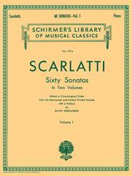 60 Sonatas - Volume I Sheet Music by Domenico Scarlatti