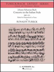 Concerto in the Italian Style (Urtext Edition) Sheet Music by Johann Sebastian Bach