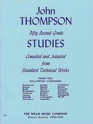 Fifty Second-Grade Studies Sheet Music by Giorgio Ferrari
