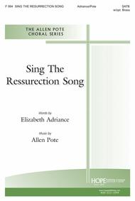 Sing the Resurrection Song Sheet Music by Allen Pote