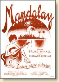 Mandalay Sheet Music by Erling Winkel & Rudyard Kipling