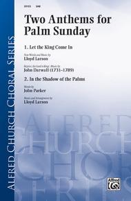 """Two Anthems for Palm Sunday Sheet Music by incorporating """"Rejoice"""