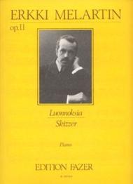 Skizzer / Luonnoksia Op. 11 Sheet Music by Erkki Melartin