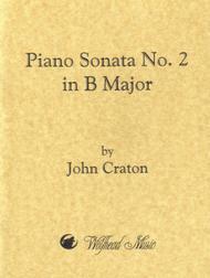 Piano Sonata No. 2 in B Major Sheet Music by John Craton