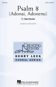 Psalm 8 Sheet Music by Dan Forrest